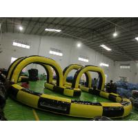 Buy cheap factory price inflatable sport game,inflatable car track for sale SPG007 from wholesalers