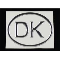 Buy cheap Decorative Personalized Polyurethane Domed Labels Strong Adhesive product