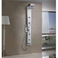 Buy cheap Stainless Steel Shower Panel Standing Hang On Dark Gray Wall Shower from wholesalers