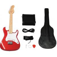 Buy cheap Mini ST Style 31 inch Electric Wooden Toy Guitar Set With 5 Watt Amplifier AGT31-ST2 from wholesalers