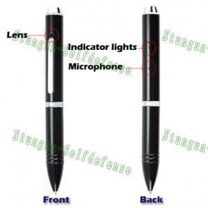 China Voice activated 1280*960 dvr pen, Pinhole camera / Mini camera/spy pen recorder on sale