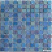 Buy cheap Frosted Crystal Glass Mosaic Tile, Colorful Mosaic Wall Tiles For Swimming Pool from wholesalers