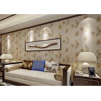 Buy cheap Bronzing Modern Removable Wallpaper with Pottery Natural Crack from wholesalers