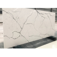 Buy cheap Solid Surface 6mm Sintered Calacatta White Tiles product