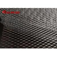 Buy cheap Stainless Steel Stretched Sheet Decorative Flattened Expanded Mesh AISI304 And AISI316 Standard product