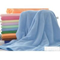 Buy cheap Eco Friendly Knitted Custom Microfiber Towels For Swimming / Sports from wholesalers