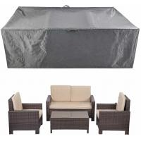 Buy cheap Patio Furniture Set Covers Waterproof Outdoor Table Covers Sectional Conversation Loveseat Sofa Set Covers from wholesalers