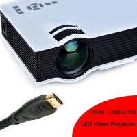 Buy cheap 2016 New Arrival HD LED Projector Built In Speaker HDMI Support 1080p LED Video Projecteur from wholesalers