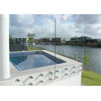Buy cheap 4mm 5mm 6mm Thickness Clear Float Glass Sheet For Balcony / Bathroom Glass from wholesalers