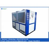 Buy cheap 100kw Scroll Air Cooled Anodizing Water Chiller / Industrial Water Chiller for Anodizing from wholesalers