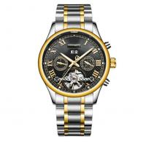 China best automatic watches cheap wrist watch automatic chronograph men automatic mechanical watch on sale