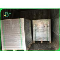 Buy cheap Thinkness 1.4mm Good hardness and one side coated Duplex Board in sheets from wholesalers