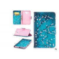 Buy cheap Cherry Blossom Card Pocket Phone Case , Pu Leather Phone Cases For Huawei product