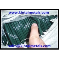 Buy cheap 2.0/3.0 PVC coated steel wire for processed chain link fencing fabric production from wholesalers