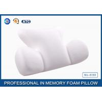 China High Density Memory Foam Back Support Cushion , Chair Massage Lumbar Pillow on sale