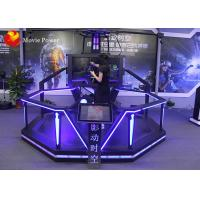 Buy cheap VR Walking Standing Up Cinema Virtual Reality Simulator With HTC Vive Walking Platform from wholesalers
