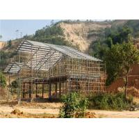 Buy cheap Modernized Design Light Steel Structure Homes Prefab Villa Customized Size from wholesalers