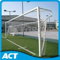 Buy cheap Ground Stadium Full Size Soccer Goal , Socketed 12 X 6 Indoor Soccer Goals from wholesalers
