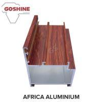 Buy cheap Wooden Marable Aluminum Heatsink Extrusion Profiles Length Shape Customize product