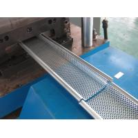 Buy cheap 0.6mm - 1.5mm Galvanized Steel Rolling Shutter Door Roll Forming Machine Hydraulic Pre-punching from wholesalers