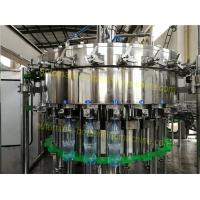 Scientific Carbonated Drink Filling Machine 250ML - 2L Bottle High Degree Of Automation