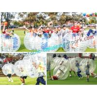 Buy cheap Human Body Inflatable Zorb Ball Soccer With Bubble / Inflatable Loopy Ball from wholesalers