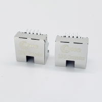 Buy cheap 1X1 Tab Up Low Profile RJ45 Jack Without LEDs product