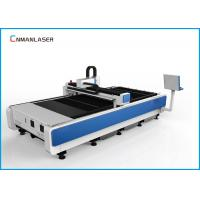 Buy cheap CNC 1530 1000W Cnc Fiber Optic Laser Cutting Machine For Metal , Desktop Laser Cutter from wholesalers