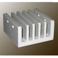 Buy cheap Steel Polished / Electrophoretic Aluminum Heatsink Extrusion Profiles With Fabricating from wholesalers