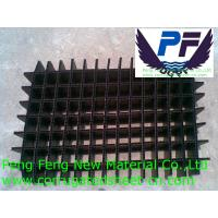 Buy cheap black/white/blue/red color polypropylene plastic correx divider sheet for packing from wholesalers