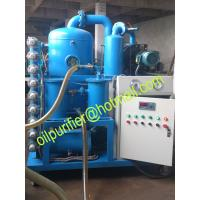 Buy cheap New Double stage Vacuum Transformer Oil Purification Plant, Mineral Power Transformer Oil recycling machine from wholesalers