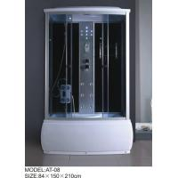 Buy cheap Electronic system power shower enclosures with tray Syphon Included Included tub shower stalls from wholesalers