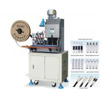 Buy cheap 2 Pin Plug Wire Cut Strip Crimp Machine for NEMA Plug Type A from wholesalers