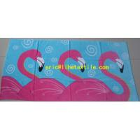 Buy cheap 100% cotton velour printed beach towel 90X180CM GSM500 new design from wholesalers
