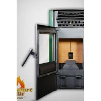 Buy cheap Cast Iron Pellet Stove / Programmable Pellet Stove With Water Circulation Heating from wholesalers
