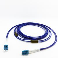 Buy cheap Light Weight Armored Fiber Optic Patch Cables Soft Helical Stainless Steel Tape from wholesalers