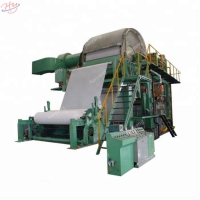 Buy cheap Pulp 380V 1760mm 100t Toilet Roll Making Machine from wholesalers
