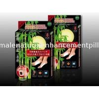 Buy cheap Bamboo Vinegar Foot Detox Patches Herbal privet label OEM FDA CE 10 pieces/box from wholesalers