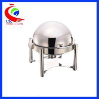 Buy cheap Hotel Round Buffet Bain Marie Food Warmer Hot Pot Chafing Dish Roll - top from wholesalers