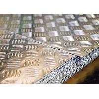 Buy cheap 5052 3003 Aluminium Chequered Plate Fire Resistance Leaf Pattern For Solar Reflective Film from wholesalers