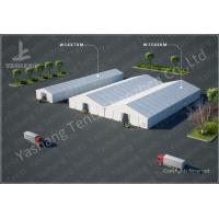 Buy cheap Emergency Industrial Marquee Outdoor Warehouse Tents Complex With Fabric Rain Gutter from wholesalers