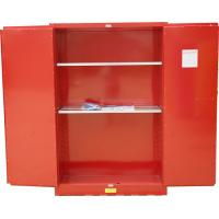Buy cheap Red Paint Ink Chemical Hazardous Storage Cabinet heavy duty for SSMR100030P from wholesalers