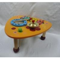 Buy cheap Play House Musical Multifunction Triangle Music Instrument Mix Table Preschool Wooden Toys from wholesalers