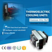 Buy cheap 48v cabinet Air Conditioner industrial Peltier 12v dc air cooler motors from wholesalers