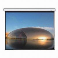 Buy cheap Fantasy Large Stage Motorized Screen with In-line Switch and Infrared Remote Controller from wholesalers