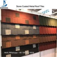 Buy cheap Kenya Decras Roofing - Stone Coated Steel Roof Shingles Tiles Price from wholesalers