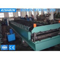 Buy cheap Classic Rib  Long Span Roof Panel Roll Forming Machine 70 mm Roller product