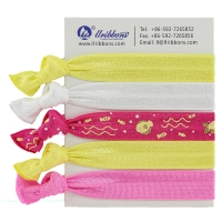 Buy cheap Diy Kids Yellow Thick 16mm Ponytail Elastic Hair Bands from wholesalers