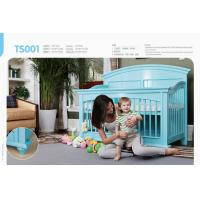 Buy cheap High quality solid  wood baby bed,safety testing standards baby bed  for TS001 from wholesalers