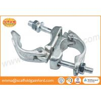 Buy cheap Forged rolling clamp galvanized swivel coupler BS 1139 for 48.3MM tubes from wholesalers